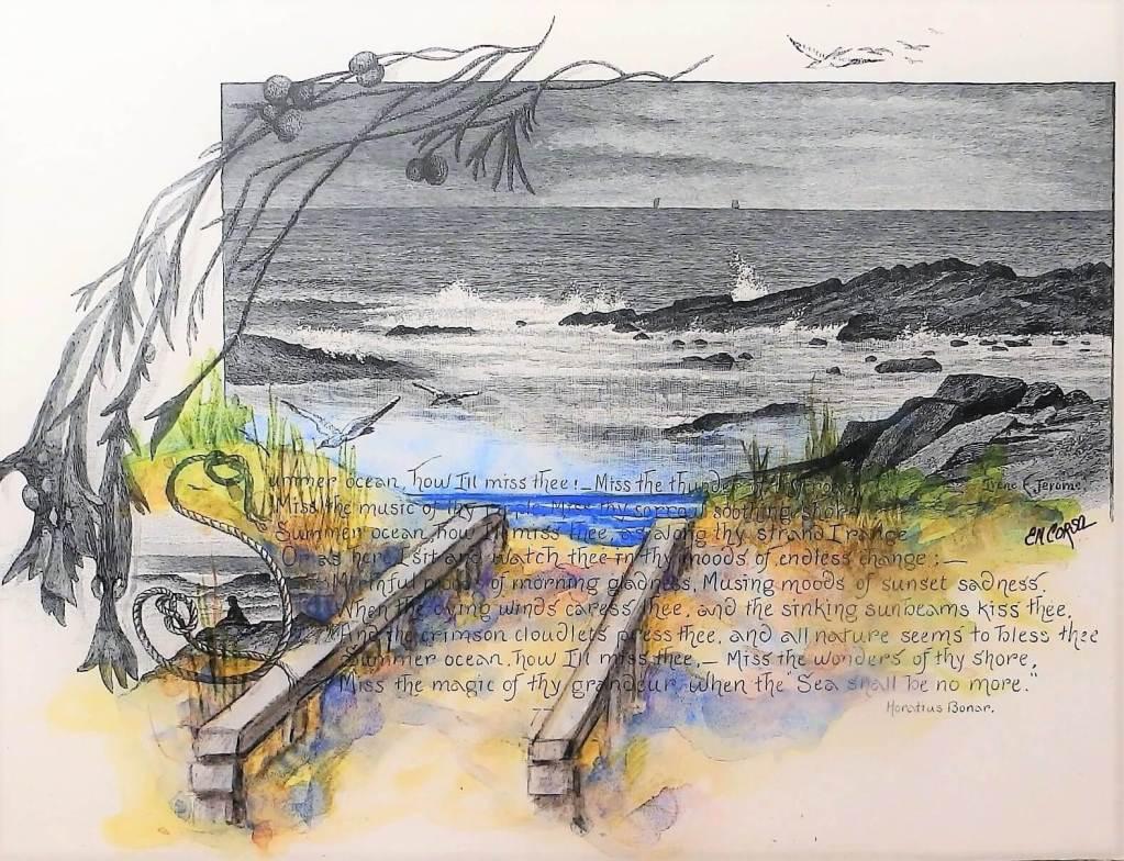 Original artwork by E.M. Corsa.